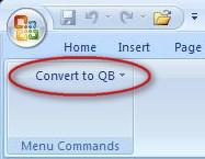 Convert to QB